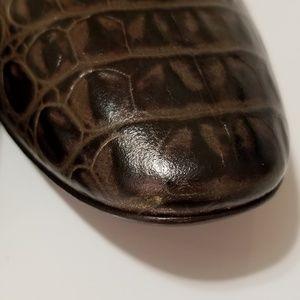 Donald J. Pliner Shoes - Donald J Pliner Couture Henna Snakeskin Flats
